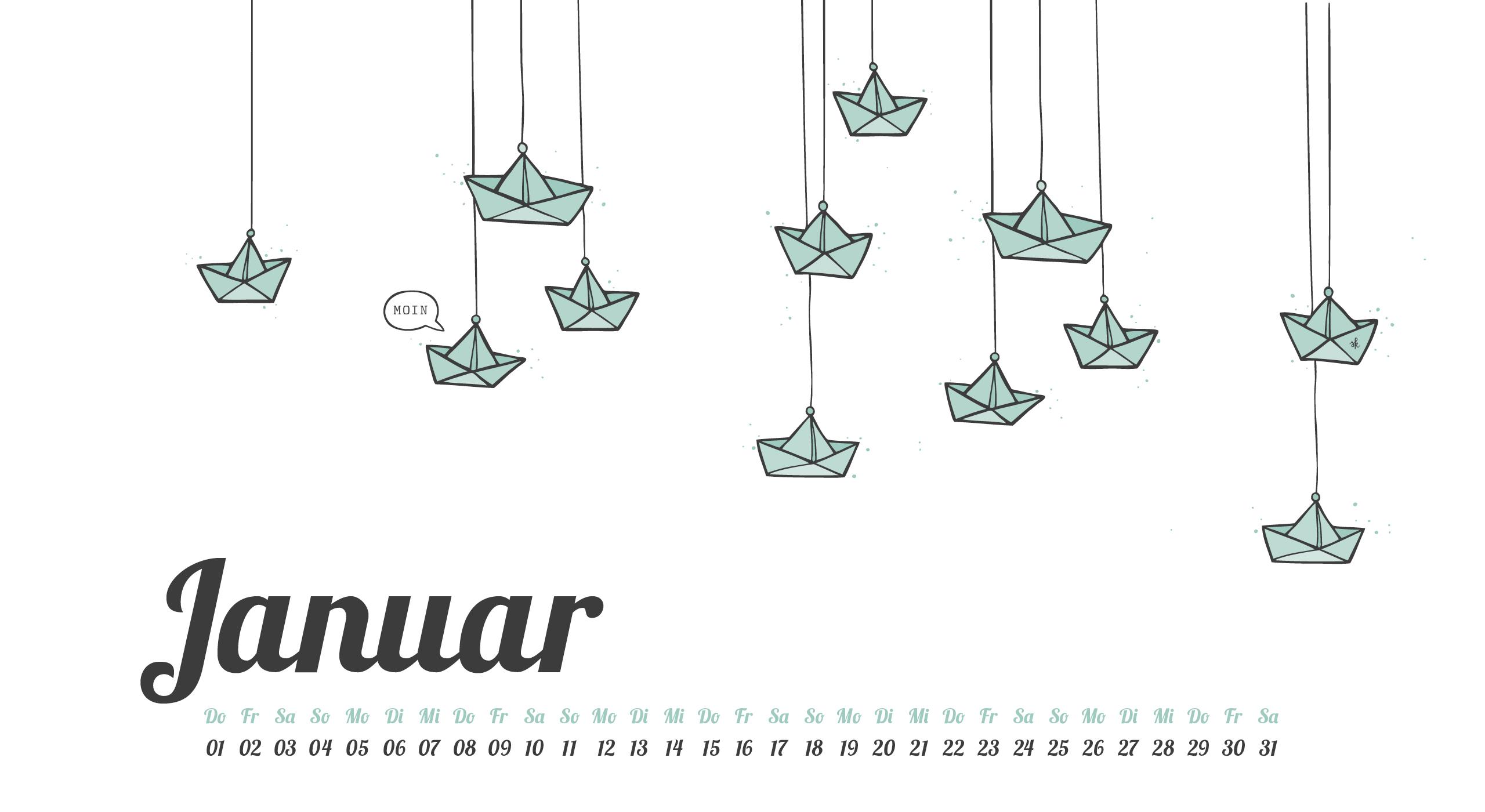 Nordisch frisches freebie desktop wallpaper januar 2015 for Schreibtisch nordisch