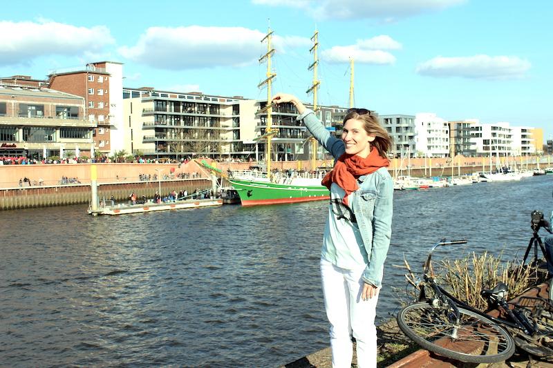 Alexander von Humboldt Europahafen Bremen 11