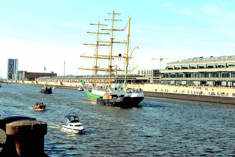 Alexander von Humboldt Europahafen Bremen 6