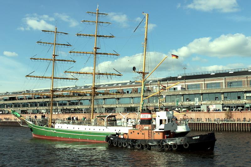 Alexander von Humboldt Europahafen Bremen 8