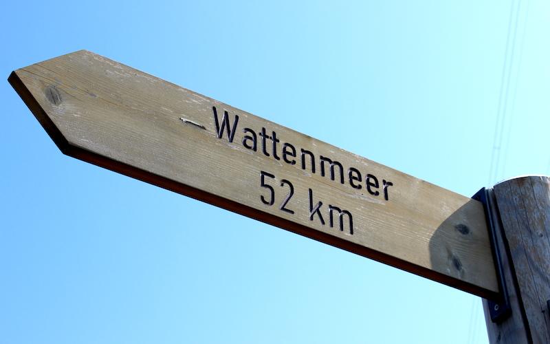 Borkum-Faehre-Wegweiser