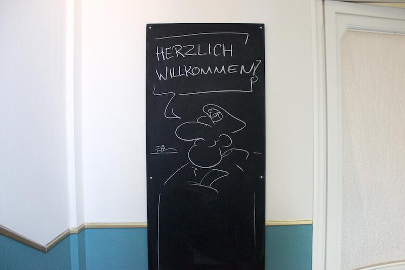 Liegeplatz Bremen Willkommen