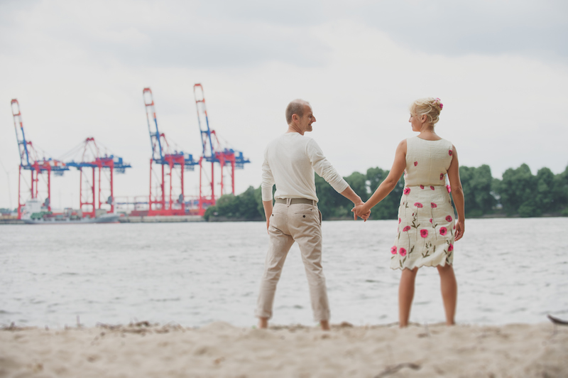 Paar Shoot Chris and Klaus wedding Strandperle Hamburg Germany shot by dna photographers 129